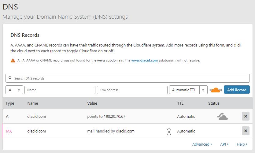 cloudflare làm dns trung gian -8